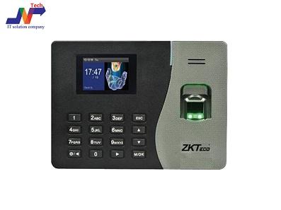 جهاز بصمة zkteco-  ماكينة بصمة حضور وانصراف - ضمان 5 سنوات مع  ان تك
